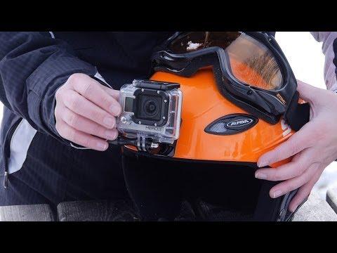 GoPro-Halterungen beim Skifahren - Praxis-Test | CHIP