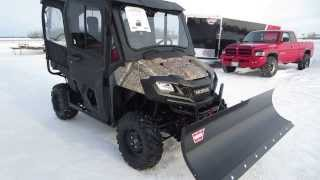 10. 2014 Honda Pioneer 700-4 with Workman Cab, 72