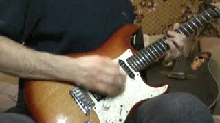 """Кавер гитарной партии песни  """"Пора домой""""""""  но. """"Сектор газа"""""""