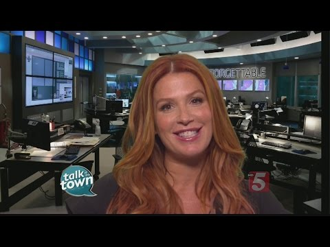 "Poppy Montgomery Previews Season Finale of ""Unforgettable"""