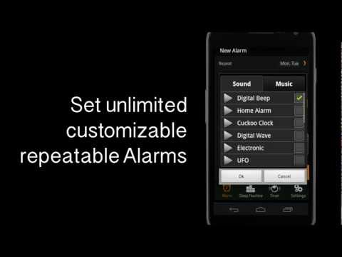 Video of Bedside Alarm Clock Free