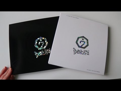 Unboxing GOT7 갓세븐 1st Studio Album Identify (Original & Close Up Version) (видео)