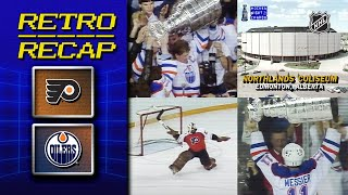 Gretzky, Messier win Stanley Cup in Game 7   Retro Recap   Flyers vs Oilers by NHL