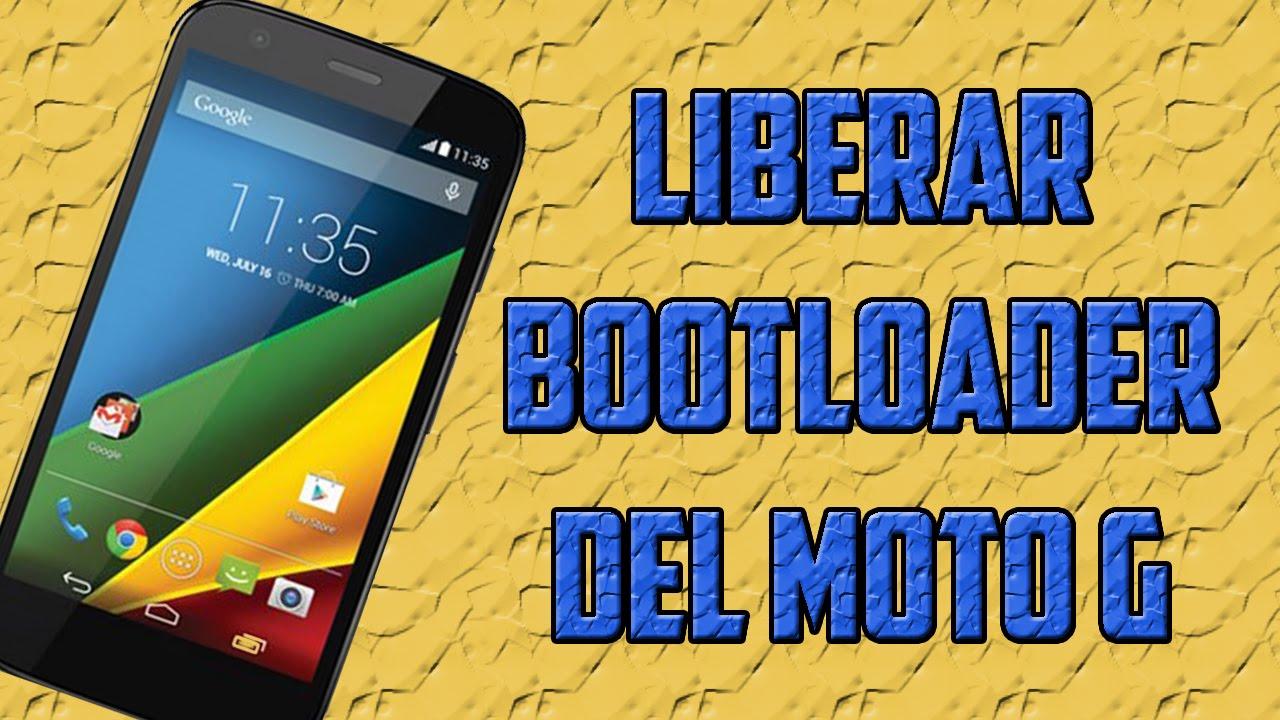 Descargar Liberar Bootloader de Motorola Moto G [XT1032 , XT1033 , XT1034] para Celular  #Android