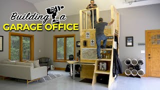 Building a fun and practical garage office
