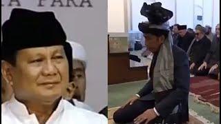 Video Sementara Prabowo sholawatan aja gak bisa, Jokowi malah sudah jadi imam solat di Afganistan MP3, 3GP, MP4, WEBM, AVI, FLV Desember 2018