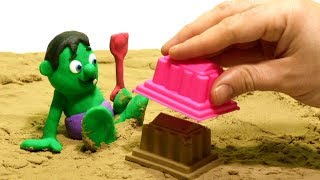 Video Superhero sand playground - Play Doh Stop motion videos for kids MP3, 3GP, MP4, WEBM, AVI, FLV Oktober 2018