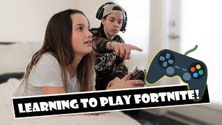 Video Learning To Play Fortnite 🎮 (WK 374.7) | Bratayley MP3, 3GP, MP4, WEBM, AVI, FLV Februari 2019