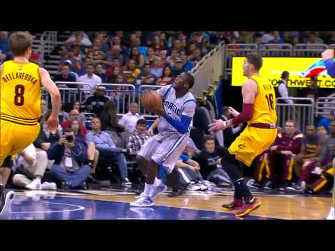 Video: Oladipo Soars Past Lebron's Block Attempt