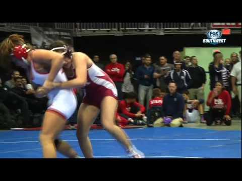 High School Spotlight: 6A Girls Wrestling Championships (видео)