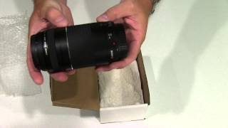 Canon EF 75-300mm f/4-5.6 III Telephoto Zoom Lens for Canon SLR Cameras Unboxing