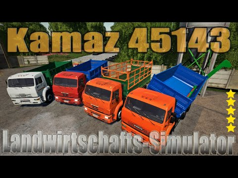 Kamaz 45143 Selhoznik v1.0.0.0