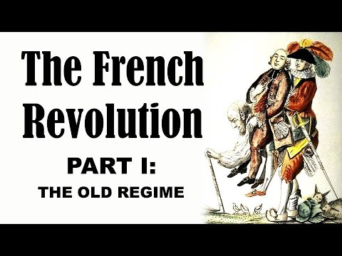 regime - http://www.tomrichey.net/euro This is the first part of my lecture series on the French Revolution, providing an introduction to the background and the cause...