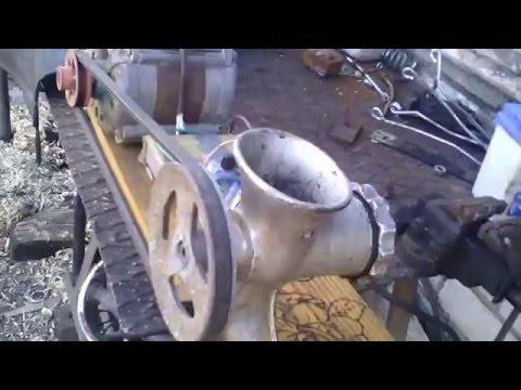 Как сделать гранулятор для комбикорма своими руками видео из мясорубки