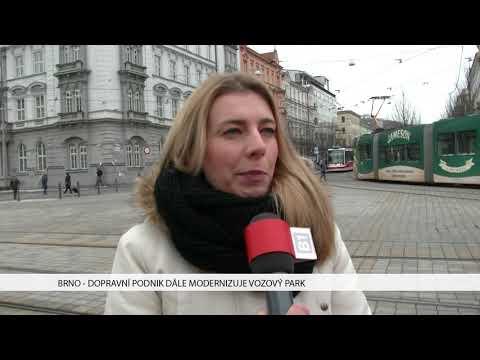 TV Brno 1: 22.1.2017 Dopravní podnik dále modernizuje vozový park.