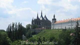 Kutna Hora Czech Republic  City new picture : Amazing Gothic Cathedral, Kutná Hora, Czech Republic