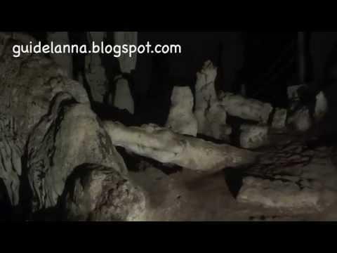 ถ้ำน้ำลอด ถ้ำผีแมน ปางมะผ้า แม่ฮ่องสอน (видео)