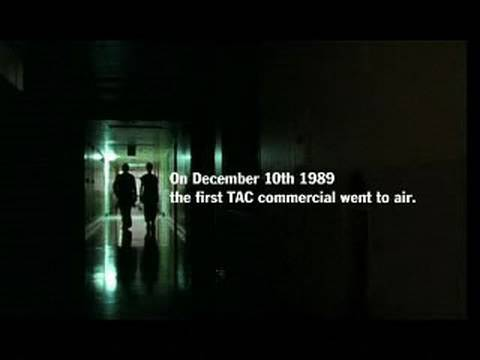 TAC - On December 10th 1989 the first TAC commercial went to air. In that year the road toll was 776; by last year 2008 it had fallen to 303. A five minute retrosp...