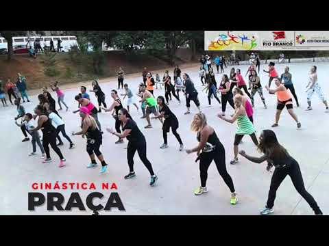 Projeto Ginástica na Praça. Prefeitura de Rio Branco cuidando de vc!