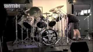 Iron Maiden's. Nicko McBrain's Drum Tech's Interview 2011tour Australia with Charlie~
