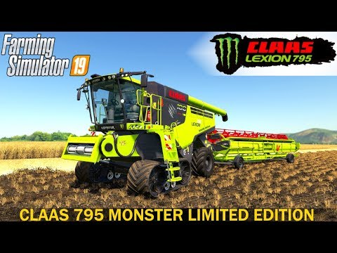 Claas Lexion 795 Monster Limited Edition v1.0.0.0