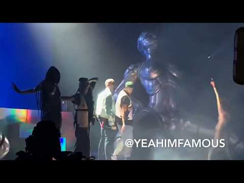 Chris Brown with special guest Davido Live at Barclays Center in NYC on The IndiGoat Tour