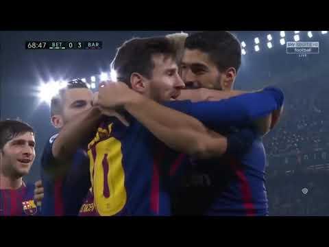 Real Betis vs Barcelona (0 5) 21 1 2018 HD