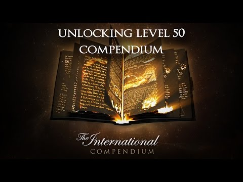 Unlocking Level 50 TI5 Compendium