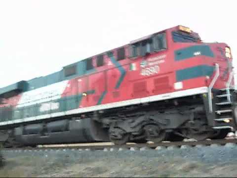 Ferromex 2 trenes nuevos!!!