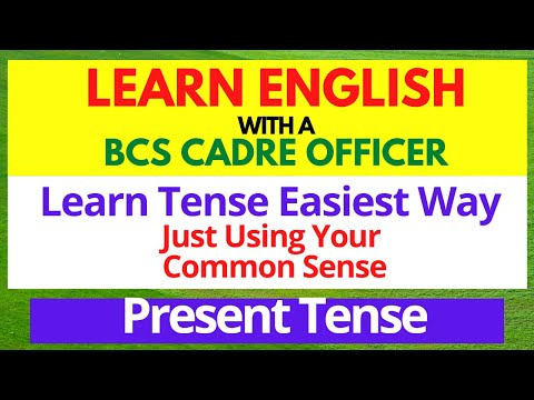 Tense for Beginners|| All about Tense & Present Tense|Basic English Grammar Learning|| Part-1
