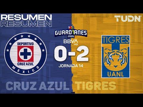 Resumen y goles | Cruz Azul 0-2 Tigres | Guard1anes 2020 Liga BBVA MX - J14 | TUDN