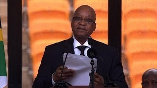 Zuma hails South Africa's 'greatest son' Mandela