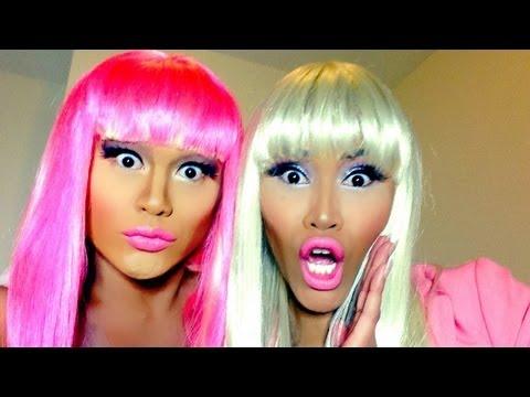 Nicki Minaj Transformation (His&Her)