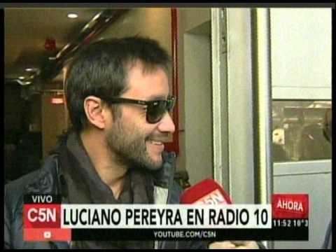 C5N- MUSICA: LUCIANO PEREYRA VISITO RADIO 10