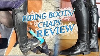 Here's a very requested review on my riding boots (jodphurs/shoes and chaps) they're from QHP, you can find a store close to you here https://www.qhp.nl/storelocator :)I have the milaan shoes – https://www.qhp.nl/7120-jodhpur-milaan.htmlAnd birgit chaps - https://www.qhp.nl/7128-chap-birgit-n.html READ/see more; www.theresemoser.com - my shop -  https://www.redbubble.com/people/theresemoser/shop -http://www.facebook.com/theresemosershowjumping - theresemoser @ instagram Thank you so much to my sponsors/supporters:@mssequestrian / @MaryamPhotos on instagram https://www.youtube.com/channel/UCTYon6_kcAVIWm-DAae2LigGhoDho - use code 'therese17' for $10 off your orderTotal Saddle Fit- https://totalsaddlefit.com/Majyk Equipe- http://www.majykequipe.com/BCP Hooves - www.bcphooves.com Social media sum up:Website: http://www.theresemoser.comFacebook: http://www.facebook.com/theresemosershowjumpingInstagram: @theresemoser - @moserponiesRaws channel: http://www.youtube.com/mosershowjumpingTwitter: @theresemoser