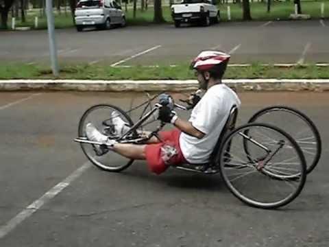Primeiro Handcycle fabricado em Brasília-DF-2-, Lago Sul, Brasil/Brazil