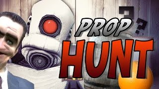 Prop Hunt : SHOOT HIM IN THE DICK! (Garry's Mod Funny Moments!)