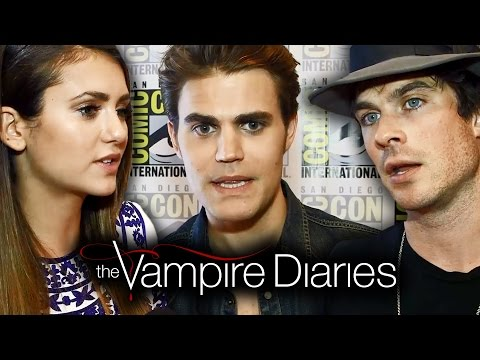 THE VAMPIRE DIARIES Cast Teases Season 6 - Comic-Con 2014