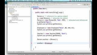 OO Programming In Java - Lecture 14 (3/16/13)