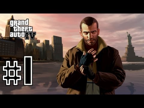 Grand Theft Auto IV Walkthrough/Gameplay HD - The Cousins Bellic - Part 1 [No Commentary]