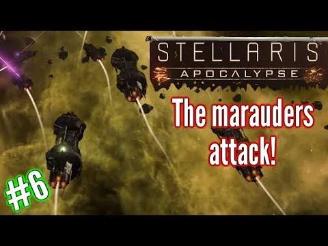 Stellaris Apocalypse | Ep6 | The Marauders Attack!!.| Stellaris Gameplay - Let's play.