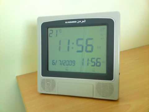 Comment regler azan clock ? La réponse est sur Admicile.fr
