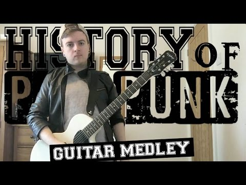 History Of Pop Punk In 5 Minutes - Guitar Medley
