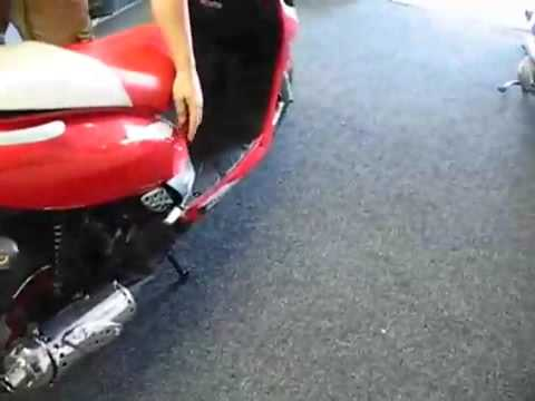 150cc MP JCL Scooter, 360 video with Details