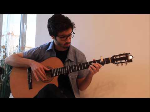 W eftkrt Mohamed Hamaki Guitar Cover وافتكرت محمد حماقي جيتار (видео)