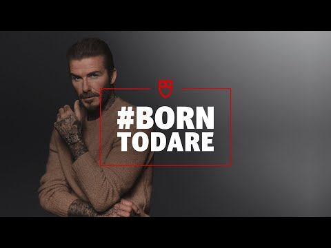 Tudor is #BornToDare with David Beckham