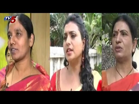Paritala Sunitha,Roja,DK Aruna Success Stories in Vijaya : TV5 News