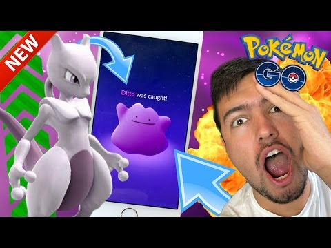 HOW TO CATCH DITTO..! | Pokemon Go Gameplay | POKEMON GO NEW UPDATE CP CHANGES