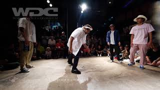 Greenteck & Nelson vs Takumi & らんきち – WDC 2018 FINAL POP BEST8