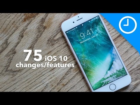 , title : '75 new iOS 10 features / changes! [9to5Mac]'